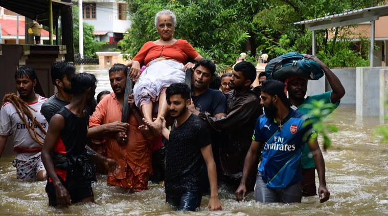 Villagers stranded as Northern India Flooded