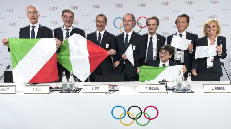 Italy selected to host 2026 Winter Olympics in Milan, Cortina
