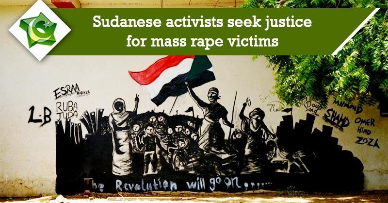 Sudanese activists seek justice for mass rapes after militia 'breaks thegirls'