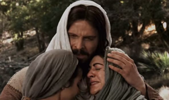 Jesus-weeps-with-Mary-and-Martha