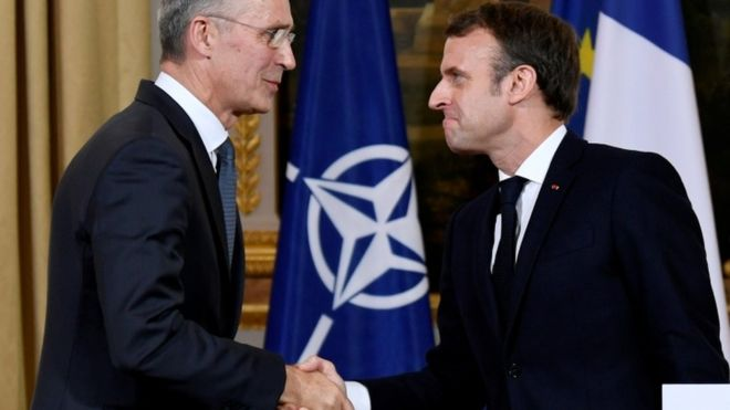 Macron stands by 'brain dead' Nato comments