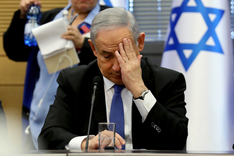 Israel's Netanyahu facing fight of his political life
