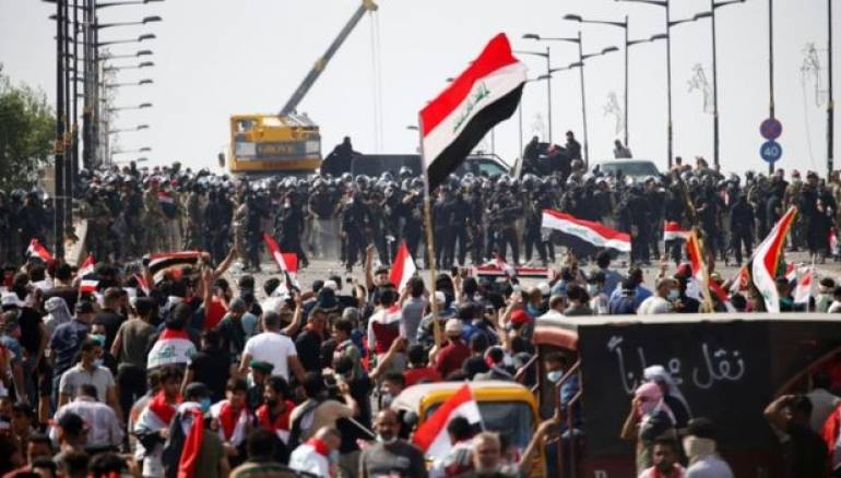Iraqi security forces kill protesters in Baghdad
