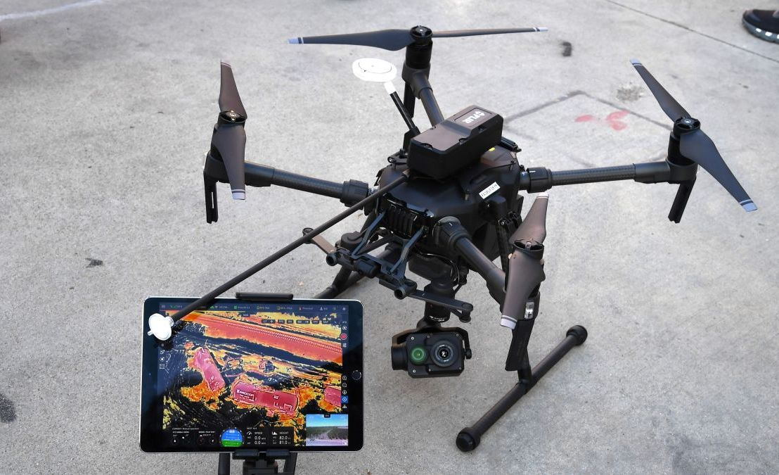 Police drones are falling from the sky when it rains, reportfinds
