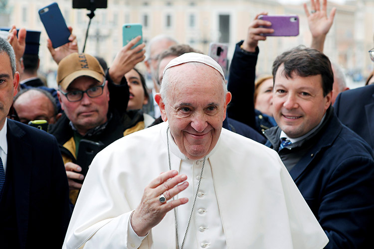 Pope to deliver Sunday service by livestream as Italy's coronavirus cases mount
