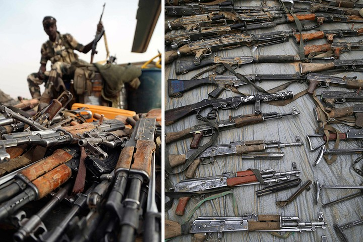 Wars in Africa provide economic future for armdealers