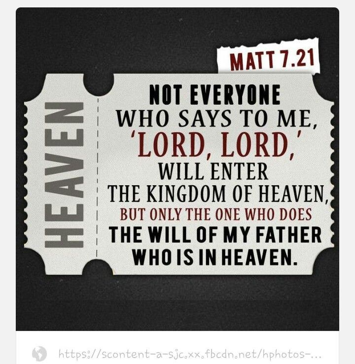 Those Who Say Lord,Lord