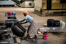 Displaced Adara women, Children takes to street begging in kaduna, Nigeria