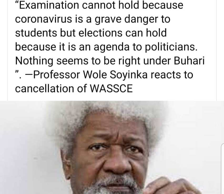 WAEC Cancellation Puts Nigeria At More Risk.