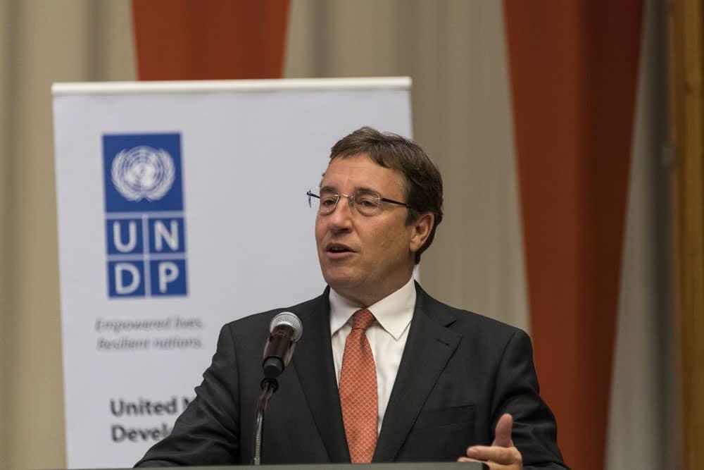 UNDP launchespartnership to restoreinternational travel andeconomic lifewithtechnology