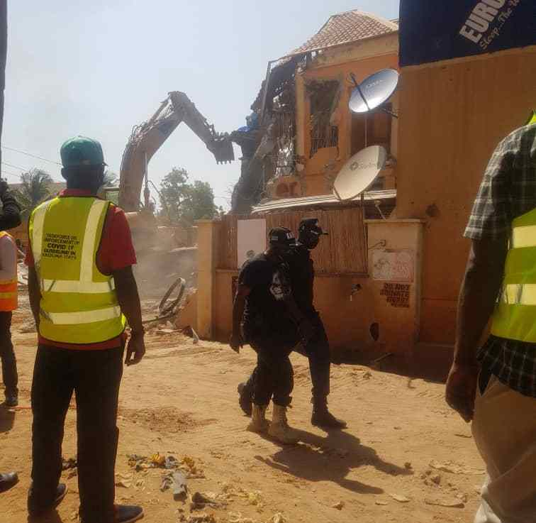 "Demolished Kaduna ""Sex Party hotel"" owners decry injustice, threatens court action"