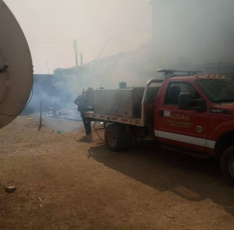 Mysterious Fire Guts Ahmadu Bello Stadium GymnasiumHall