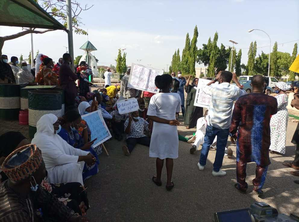 Nurses, Midwives flee hospitals, protest abduction of members in Kaduna