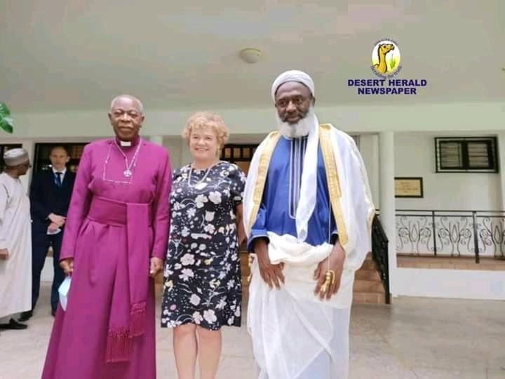 Banditry: Sheikh Gumi Visits British High Commissioner, MrsLaing