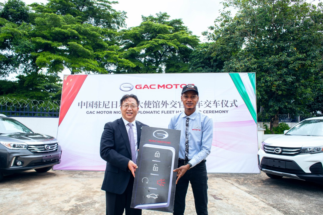 Chinese Embassy Supports Automobile Industry In NIgeria, Takes Delivery Of GACBrand